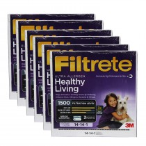 Filtrete 1500 Ultra Allergen Filter - 14x14x1 (6-Pack)
