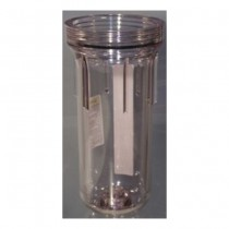 153018 Pentek Slim Line Filter Housing Sump - Clear