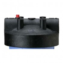 154166 Pentek Filter Housing Cap with Pressure Relief Button - Black