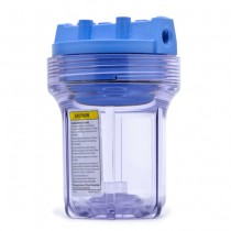 SLIM-CLEAR-14-WPR5 Pentek Whole House Slim 5 inch Filter Housing