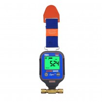 Supco VG64 Vacuum Gauge, Digital Display, 0-12000 microns Range, 10 Perfect Accuracy, 1/4 Inch Male Flare Fitting Connection