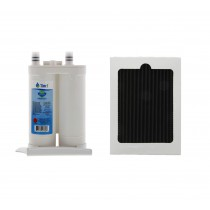 WF2CB Frigidaire and PAULTRA Frigidaire Comparable Refrigerator Water Filter and Air Filter Combo By Tier1