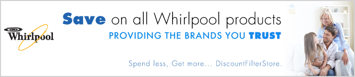 Whirlpool Products from DiscountFilterStore.com