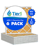 Tier 1 MERV 11 Pleated Filter