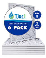Tier 1 MERV 8 Pleated Filter